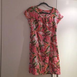 Boden Printed Cotton Dress